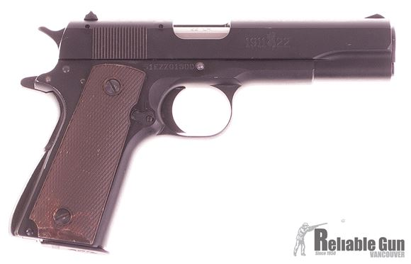 Picture of Used Browning 1911-22 A1 Semi-Auto 22 LR, With 3 Mags, Soft Case, Good Condition