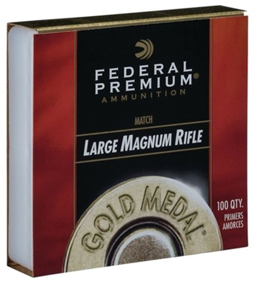 Picture of Federal Premium - Large Magnum Rifle Match Primers, 100 CT