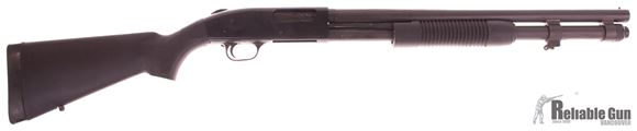"""Picture of Used Mossberg 590A1 12 Ga Pump Action Shotgun, 3"""", 20"""" Barrel, 8rd, Fair Condition"""
