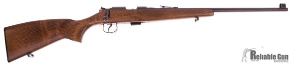 """Picture of Used CZ 513 Farmer .22 LR Bolt Action Rifle, 20.9"""" Barrel, 1 x 5rd Mag, Beech Wood Stock, Iron Sights, Excellent Condition"""