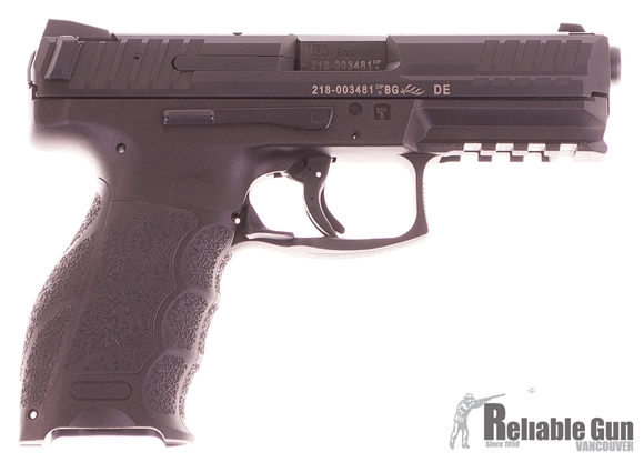 Picture of Used Heckler & Koch (H&K) SFP9-SF Striker Fired Single Action Semi-Auto Pistol - 9mm, 106mm, Polygonal Profile, Blued, Fiber-Reinforced Polymer Grip Frame, 2x10rds, Fixed Sights, Excellent Condition