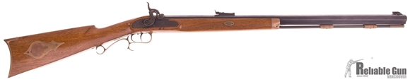 """Picture of Used Thompson Center """"Hawken Rifle"""" Percussion Cap .45 Cal Blackpowder, 29"""" Octagonal Barrel, With Accessories, Good Condition"""