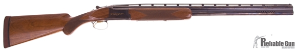 Picture of Used Browning Citori Lightning Sporting Clays Edition, Over-Under 12ga, 3'' Chambers, 30'' Ported Barrels, 2 Chokes (F,M,) Walnut Stock, Kick-Eez Recoil Pad,  Bluing Wear On Bottom Of Receiver, Good Condition