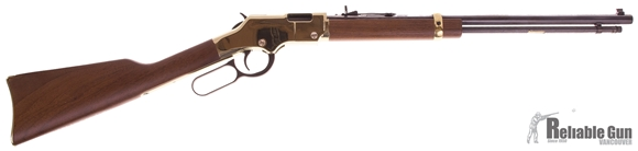"""Picture of Used Henry H004 Golden Boy Lever Action Rifle, .22 LR, 20"""" Octo Barrel, 16rd, Original Box, Good Condition"""