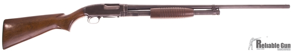 Picture of Used Winchester Model 12 Pump-Action 16ga, 28'' Barrel Factory Mod Choke, Wood Stock, Good Condition