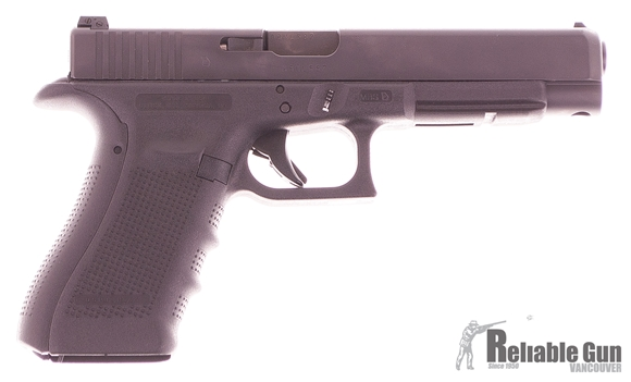 Picture of Used Glock 34 Gen 4 9mm Luger Semi Auto Pistol, 3 Mags, Original Kit, Excellent Condition