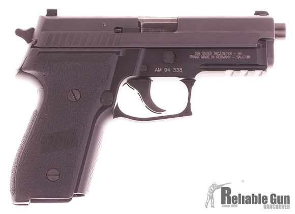 Picture of Used Sig Sauer P229 9mm Semi Auto Pistol, 106mm, Night Sights, DA/SA, 4 Mags, Original Case, Very Good Condition