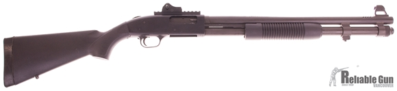 "Picture of Used Mossberg 590A1 SPX Pump-Action Shotgun - 12ga, 3"" Chamber, 20"" Barrel, LPA Rear Ghost Ring Sight, Fiber Optic Front, Good Condition"