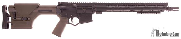 "Picture of Used 300 Blackout Custom Build Semi Auto Rifle, 16"" Barrel, AAC Flashhider, American Tactical/OMNI Polymer Recevier, 15"" Aluminum Handguard, Green Magpul Gen 1 PRS Stock and Grip, Good Condition"