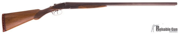 "Picture of Used L.C. Smith 12 Ga Side by Side Shotgun, 2 3/4"", 30"", Full x Full, Refinished, Repaired Crack in Stock, Fair Condition"