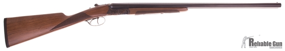 """Picture of Used Huglu 202B Side-by-Side 20ga, 3"""" Chambers, 26"""" Barrels, Case Hardened Receiver, With 5 Chokes & Original Hard Case, As New Condition"""