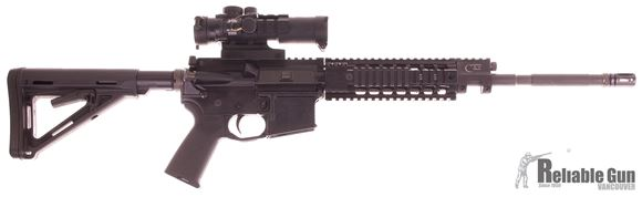 "Picture of Used GTO CORE-15 Semi-Auto 5.56, 16"" Barrel, Piston System, With Burris AR-332 Scope, One Mag & Hard Case, Good Condition"