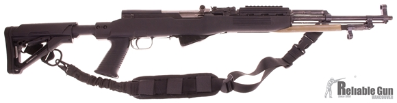Picture of Used Simonov SKS Semi-Auto 7.62x39mm, With Tapco Stock & Magpul CTR Buttstock, Two Point Adjustable Bungee Sling, Good Condition