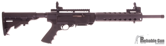 "Picture of Used Ruger SR-22 Semi-Auto 22 LR, 16"" Barrel, Threaded, Flip Up Sights, With One Mag & Original Box, As New Condition"