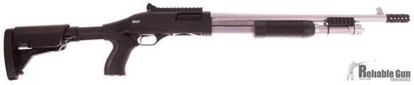"Picture of Used Winchester SXP Extreme Marine Defender Pump-Action 12ga, 3"" Chamber, 18"" Barrel, Breacher Choke, Ghost Ring Sights, Pistol Grip Fixed Stock, Good Condition"