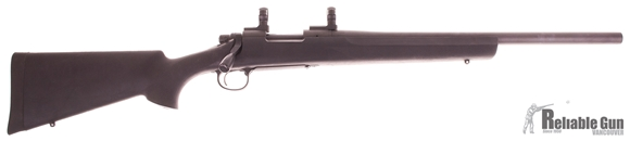 """Picture of Used Remington 700 SPS Tactical Bolt Action Rifle, 308 Win, 20"""" Heavy Barrel, Black Hogue Stock, w/Custom Tactical Bolt Knob, Leupold 1'' Scope Mounts, Very Good Condition"""