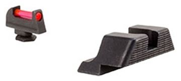 Picture of Trijicon Fiber Sights Set - Front Red, Fits Glock Models 17/17L/19/22/23/24/25/26/27/28/31/32/33/34/35/37/38/39