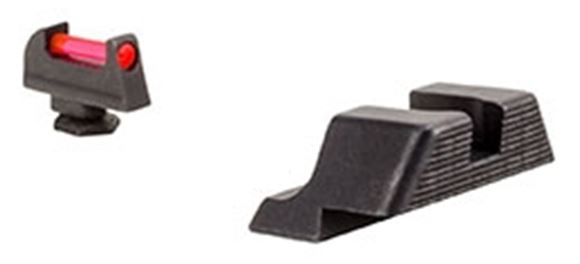 Picture of Trijicon Fiber Sights Set - Front Red, Glock Models 20,21,29,30,41 (Incl. S & SF Variants)