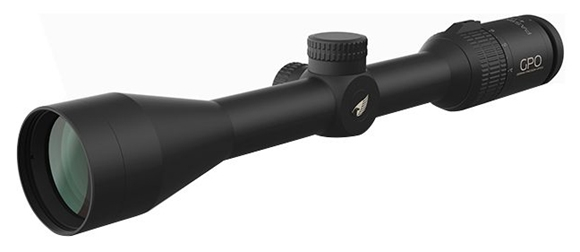 "Picture of German Precision Optics - Passion 3X Riflescopes - 4-12x42mm, 1"", 1/4 MOA Click Value CCW Rotation, Matte Black, Quick Adjust Turrets w/ Metal Caps, PLEX Reticle, GPOBright Lens Coating"