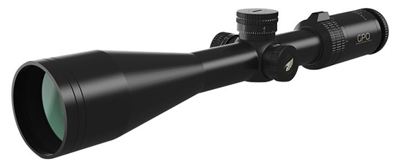 Picture of German Precision Optics - Passion 4X Riflescopes - 6-24x50mm, 30mm, 1/4 MOA Click Value, CCW Rotation, Black, Target Turrets, MOA Reticle, GPOBright Lens Coating