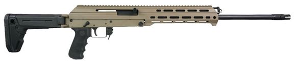 """Picture of M+M Industries M10X-Zhukov Semi Auto Rifle - 7.62x39mm, 18.6"""" Nitrided Barrel, M-Lok Aluminum Chassis, Magpul Zhukov Adjustable Folding Stock, 5/30rds, FDE"""