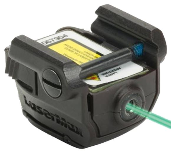 Picture of LaserMax Micro II Compact Laser - Green Laser, 1/3N battery, Fits Picatinny & Weaver Rails