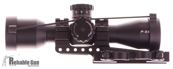 "Picture of Used Nikon P-223, 3x32mm, 1"", Matte, BDC, 1/2 MOA Click Adjustment, With One Piece Quick Release Cantilever Mount, Very Good Condition"
