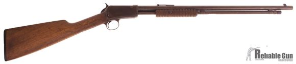 "Picture of Used Winchester 1906 .22 Lr Takedown Pump Action Rifle, 20"" Barrel, Wood Stock, 1928 Production Fair Condition"