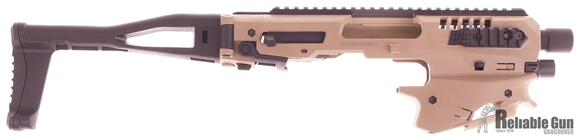 Picture of CAA - MCK Micro Conversion Kit (NFA) - Composite Chassis for Glock 20/21, Ambidextrous, Integral Charging Handle, Top & Side Rails, Folding Buttstock, FDE