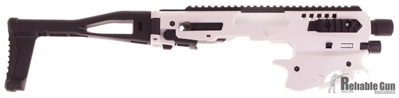 Picture of CAA - MCK Micro Conversion Kit (NFA) - Composite Chassis for Glock 20/21, Ambidextrous, Integral Charging Handle, Top & Side Rails, Folding Buttstock, White