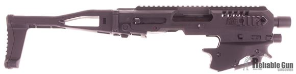 Picture of CAA - MCK Micro Conversion Kit (NFA) - Composite Chassis for S&W M&P 2.0, Ambidextrous, Integral Charging Handle, Top & Side Rails, Folding Buttstock, Black
