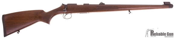 """Picture of Used CZ 455 FS Rimfire Bolt Action Rifle - 22 LR, 20-1/2"""", Cold Hammer Forged, Blued, Turkish Walnut Stock, 5rds, Adjustable Sights, Adjustable Trigger, As New"""