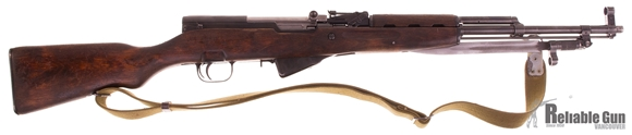 Picture of Used Siminov SKS Semi Auto Rifle, 7.62x39, Tula Manufactured Matching Numbers 1952, Sling, Good Condition