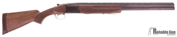 "Picture of Used Browning Citori Micro Midas Satin Hunter Over/Under Shotgun - 12Ga, 3"", 26"", Vented Rib, Satin Blued, Satin Grade I Walnut Stock, 3 Chokes (F,M,IC), w/ Browning Take Down Case, Good Condition"