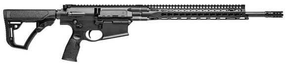 """Picture of Daniel Defense DD5V2 Semi-Auto Carbine - 7.62x51mm NATO/308 Win, 18"""", Mid-Length Gas, Mil-Spec Heavy Phosphate Coated Chrome Moly Vanadium Steel Cold Hammer Forged, Chrome Lined, Lightweight Profile, Black Cerakote CNC Machined of 7075-T6 Aluminum"""