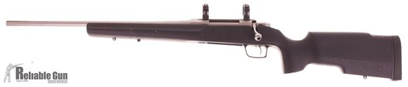 Picture of Used Tikka T3 Stainless Bolt-Action, 270 Win,  Left Hand, 22'' Stainless Barrel, Boyds Stock, Mountain Tactical Bottom Metal, Metal Bolt Shroud, Optilock 30mm Rings, 1 Magazine, Very Good Condition