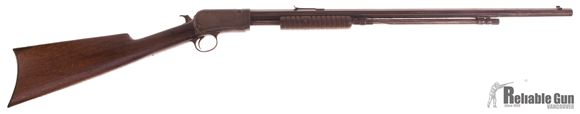 """Picture of Used Winchester Model 1890 Pump Action Rifle,  .22 Short, 24"""" Octagon Barrel, Repaired Stock, 1913 Production, Good Condition"""