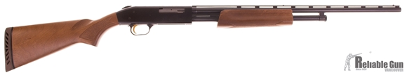 "Picture of Used Mossberg 500 Field Pump Action Shotgun - 410 Bore, 3"", 24"", Vented Rib, Blued, Hardwood Stock, 5rds, Twin Bead Sights, Fixed Full, Excellent Condition"