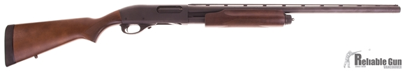 "Picture of Used Remington Model 870 Express Pump Action Shotgun - 12Ga, 3"", 26"", Vented Rib, Matte Black, Hard Wood Stock, 4rds, Single Bead Sight, Rem Choke (Modified), Excellent Condition"