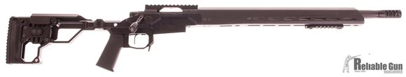 Picture of Used Unfired Christensen Arms Modern Precision Rifle, 7.2lbs, 308 Win, 20'' Carbon Wrapped Barrel w/Muzzle Brake, Aluminum Folding Chassis, Skeletonized Stock, Carbon Fiber Hand Guard & Cheek Rest, Oversized Fluted Bolt Knob, Skeletonized Bolt Handle