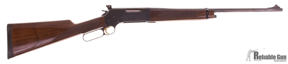Picture of Used Browning BLR 81 Lever Action Rifle, .308,  20'' Barrel, Williams Peep Sight, Wood Stock Straight Grip, Minor Pitting At End Of Barrel, Good Bore, 1 Magazine, Good Condition