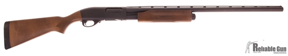 "Picture of Used Remington Model 870 Express Pump Action Shotgun - 12Ga, 3"", 28"", Vented Rib, Wood Stock, Rem Choke (Modified), Original Box, Excellent Condition"