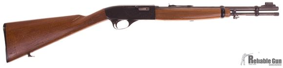 Picture of Used Colt Stagecoach Carbine Semi Auto Rifle, 22 LR, 16'' Barrel w/Sights, Wood Stock, Saddle Ring, Tube Feed, Good Condition