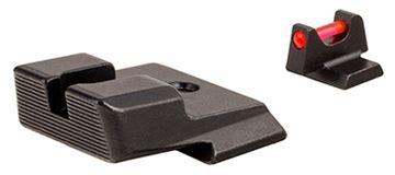 Picture of Trijicon Iron Sights, Trijicon Fiber Sights - Trijicon Fiber Sight Set, Red Front Fiber, Smith & Wesson M&P, M&P 2.0, SD9 VE, SD40VE