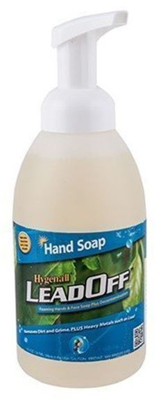 Picture of Hygenall Lead Off Foaming Hand Soap - 18.5oz Bottle Removes Lead Zinc, Cadmium, Mercury, Arsenic, Hex Chrom & other Toxic Metals, Dirts & Germs