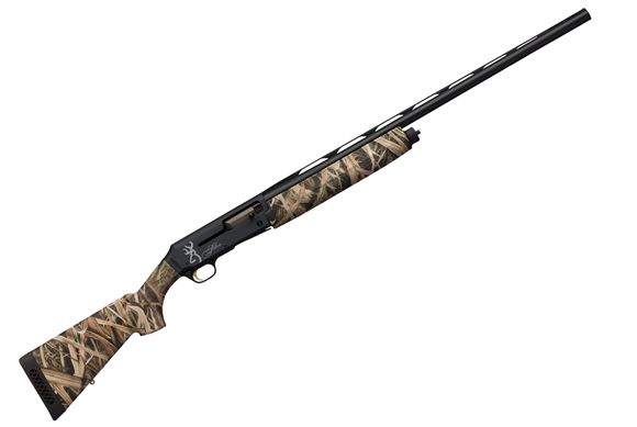 "Picture of Browning Silver Field Semi-Auto Shotgun - 12Ga, 3-1/2"", 28"", Ventilated Rib, Lightweight Profile, MOSGB Camo Composite Stock, Two-tone Gray/Black Receiver, 4rds, Brass Bead Front Sight, Invector-Plus Flush (F,M,IC)"