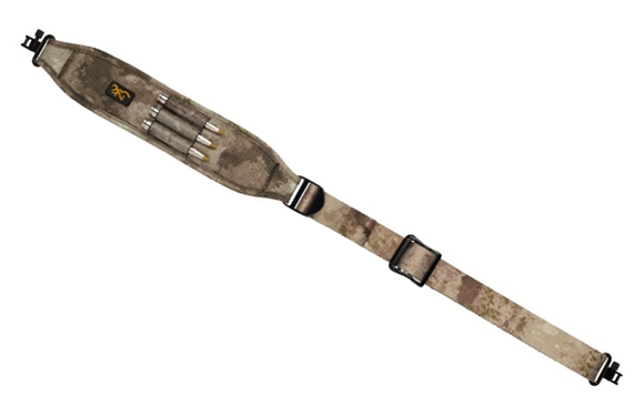 "Picture of Browning All Season Web Sling - Fits Most Long Guns, 26-40"", Locking Metal Swivels, ATACS AU Camo"