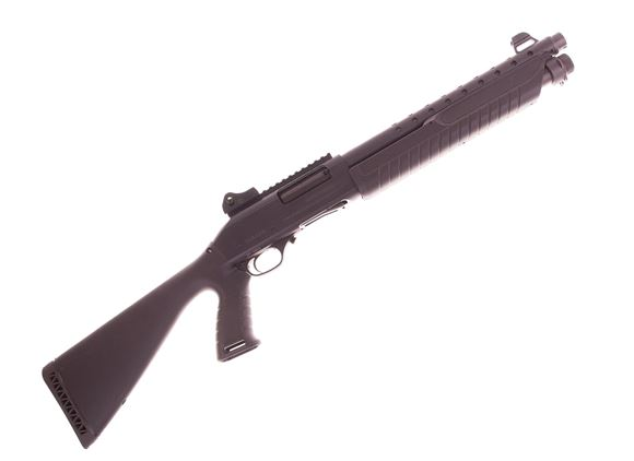 """Picture of Used Fabarm SDASS Pump-Action 12ga, 3"""" Chamber, 14"""" Barrel, Ghost Ring Sights, Pistol Grip Fixed Stock, Good Condition"""