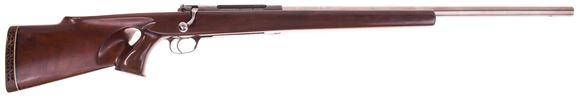 Picture of Used Schultz & Larsen M60 Custom Bolt Rifle, 7mm STW, Single Shot, 25'' Heavy Krieger Barrel, Thumbhole Stock, Good Condition