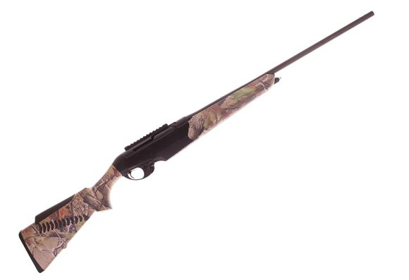 "Picture of Used Benelli R1 Big Game Semi-Auto Rifle - 300 Win Mag, 24"", Blued, Camo Synthetic  Stock, 1 Magazine, No Sight, New Condition"